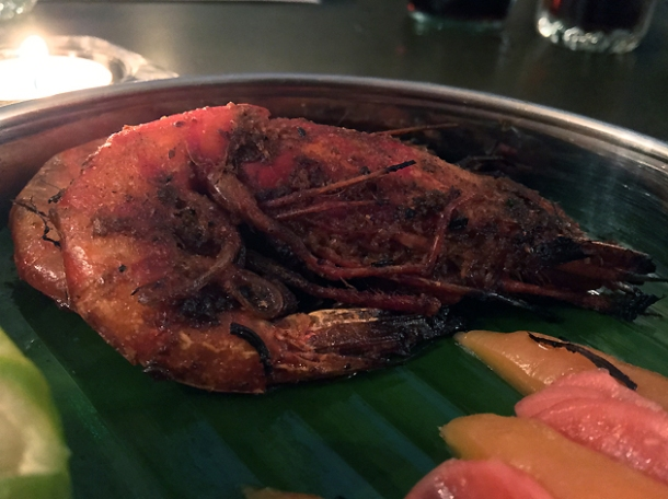 prawns at gul and sepoy