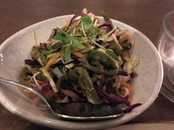 cactus salad at santo remedio london bridge