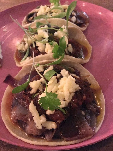 cactus tacos at santo remedio london bridge