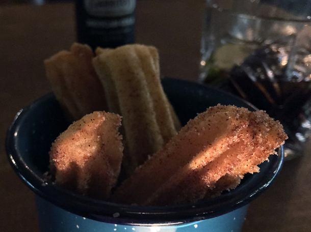 churros at santo remedio bermondsey
