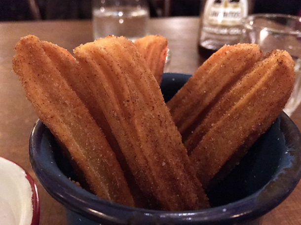 churros at santo remedio shard