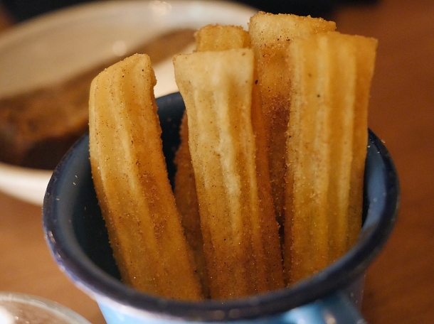 churros at santo remedio tooley street