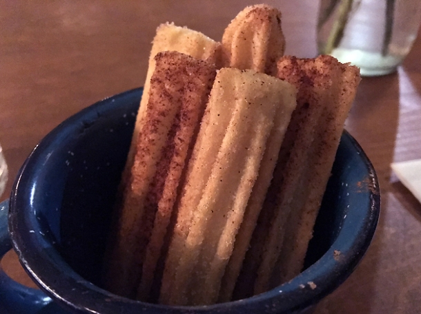 churros at the new santo remedio