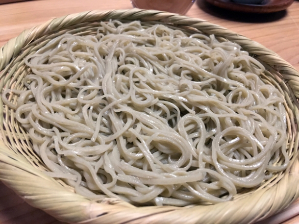 cold soba at yen the strand