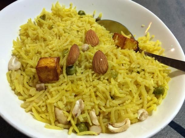kashmiri pulao rice at kashmir putney