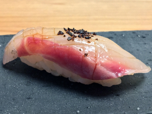 nigiri sushi at yen the strand