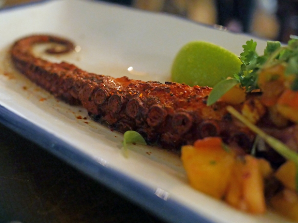 octopus tentacle at santo remedio london bridge