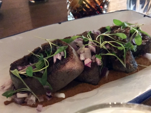 ox tongue in mole at santo remedio london bridge