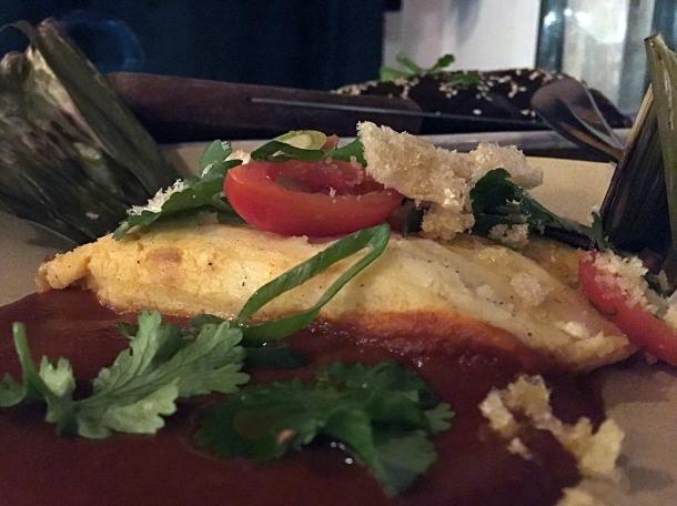 pork tamale special at santo remedio
