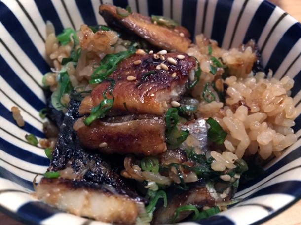 unadon eel rice donburi at yen on the strand