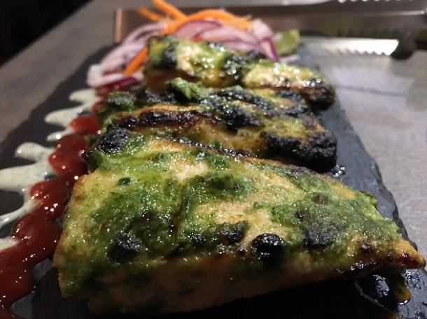 wasabi tikka salmon at kashmir putney