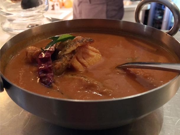 keralan fish curry at bombay bustle