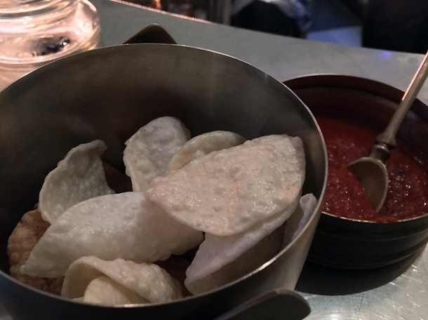 poppadoms at bombay bustle