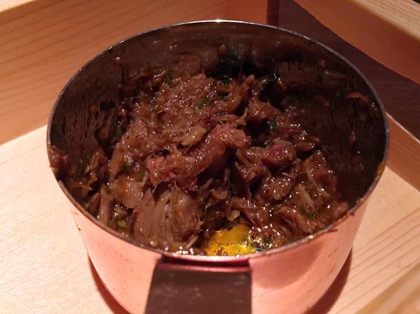 ghee roast lamb at indian accent london