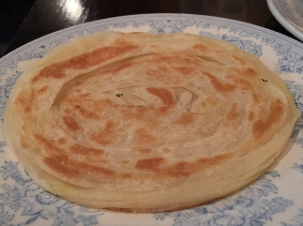 paratha at gymkhana
