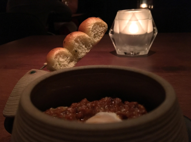 soy keema pao at indian accent london