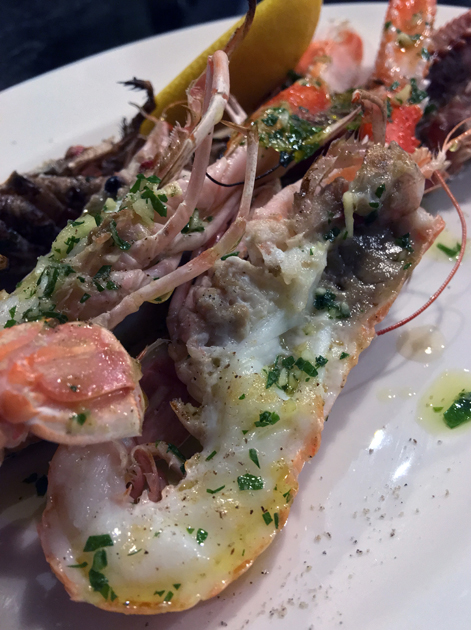 langoustines at sabor