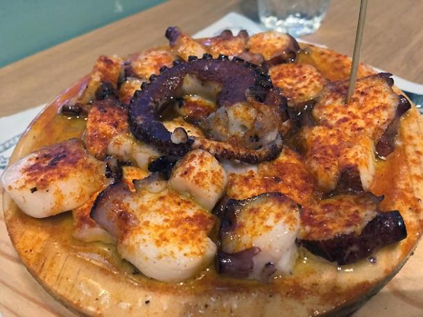 octopus at sabor asador