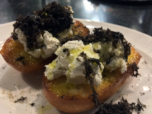 truffle and ricotta brioche at sabor