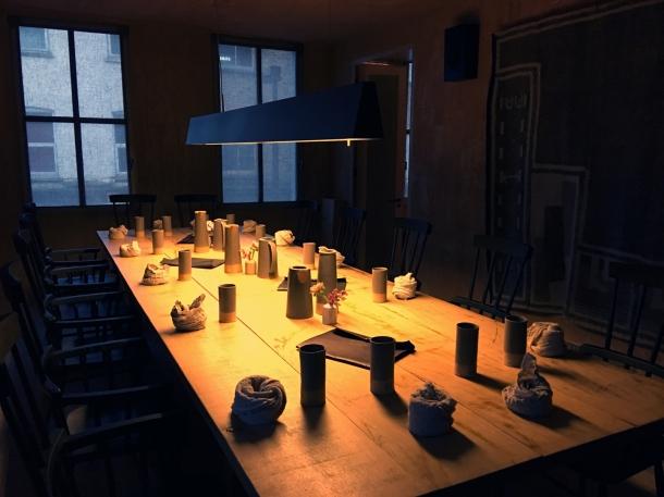 dining room at mãos