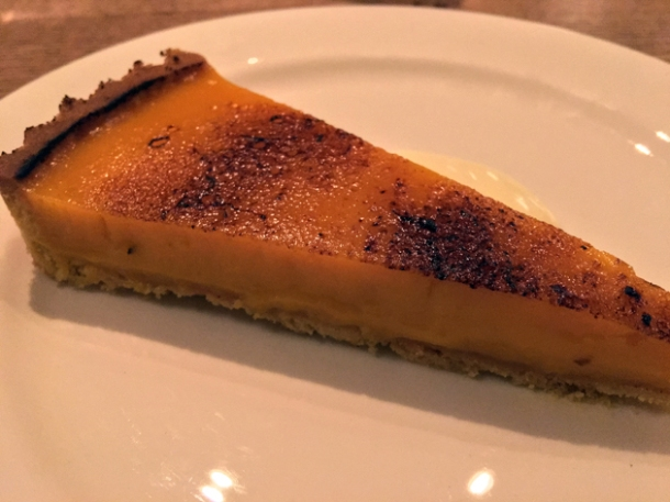 lemon tart at brat