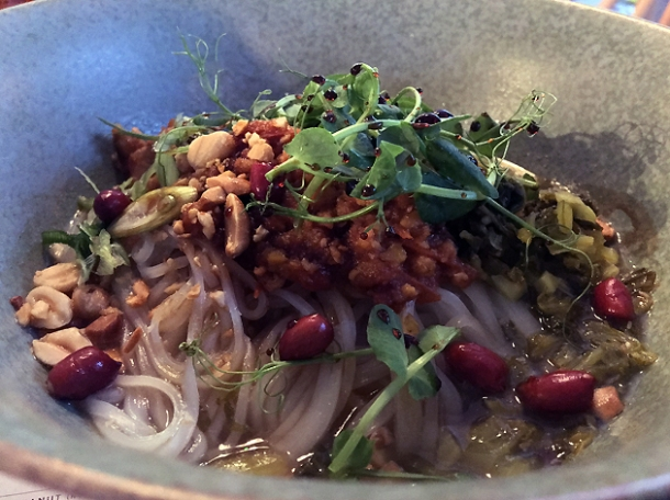 shan noodles at lahpet shoreditch