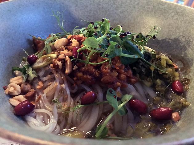 shan noodles at lahpet shoreditch
