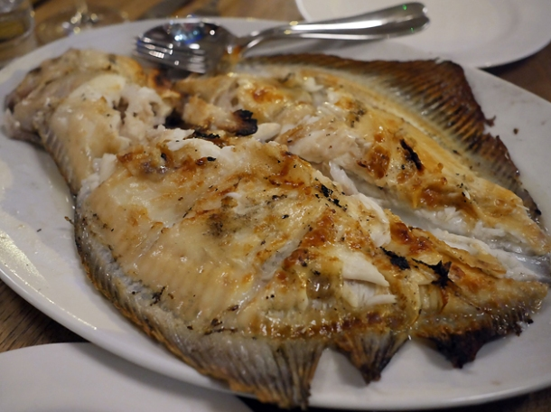 whole turbot at brat