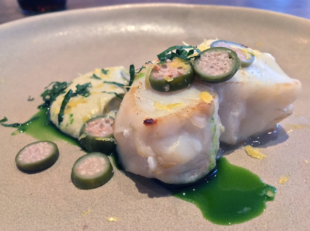 cod with capers at st leonards