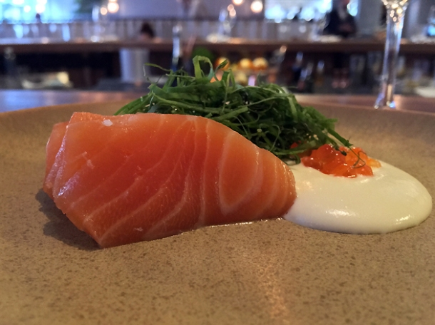 cured salmon at st leonards