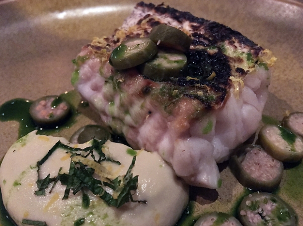 hake with capers at st leonards