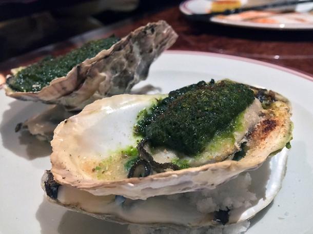 sagafella oysters at brigadiers