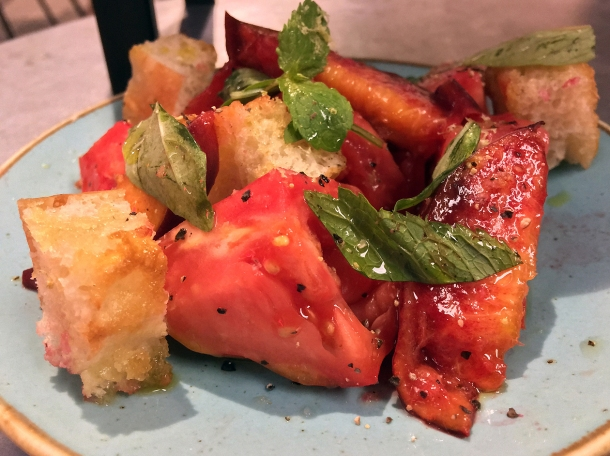 panzanella at temper covent garden