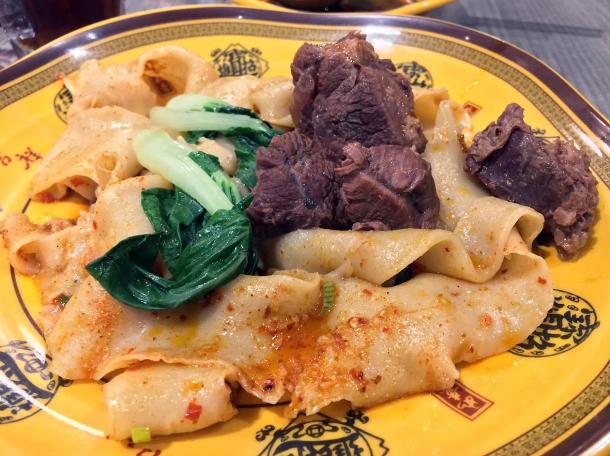beef biang biang noodles at xian biang biang noodles aldgate