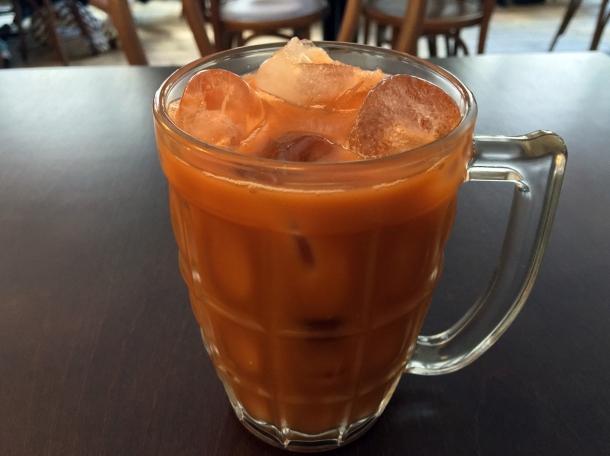 thai milk tea at kin et deum