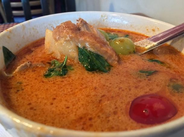 duck curry at singburi