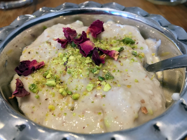 kheer rice pudding at masala wala cafe