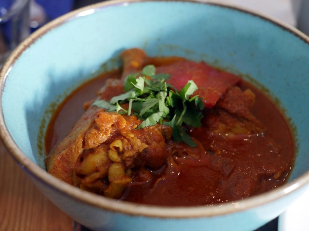 murgh masala chicken curry at masala wala cafe