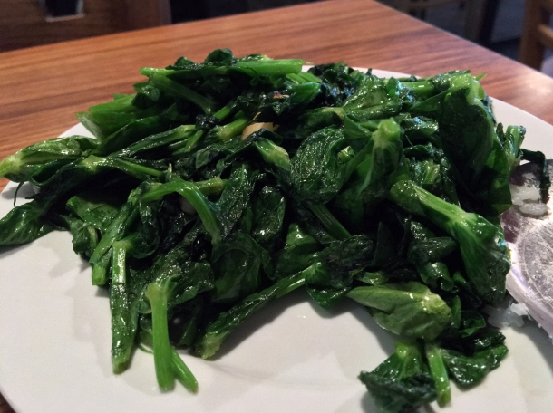 pea shoots at singburi