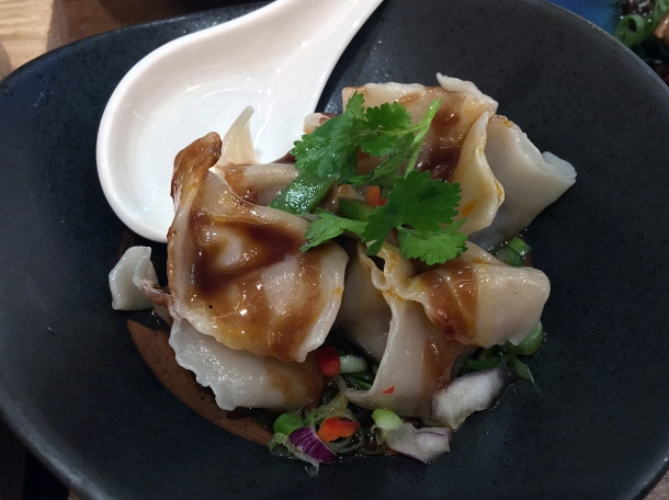 beef dumplings at Red Farm Covent Garden London