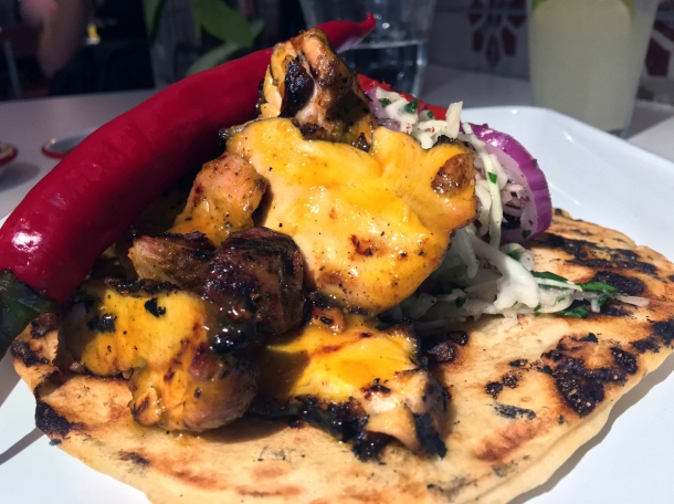 chicken shish at bababoom islington