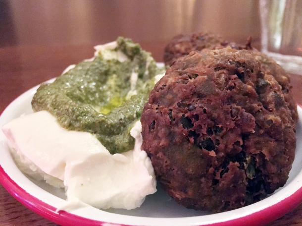 falafel at bababoom islington
