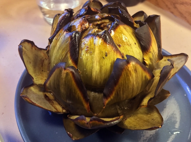 globe artichoke at two lights shoreditch