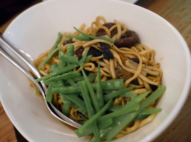 mushroom noodles at red farm covent garden