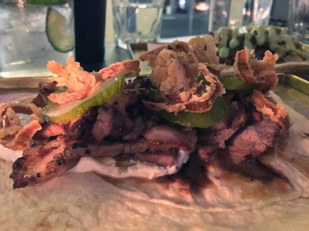 mutton kebab at maison bab