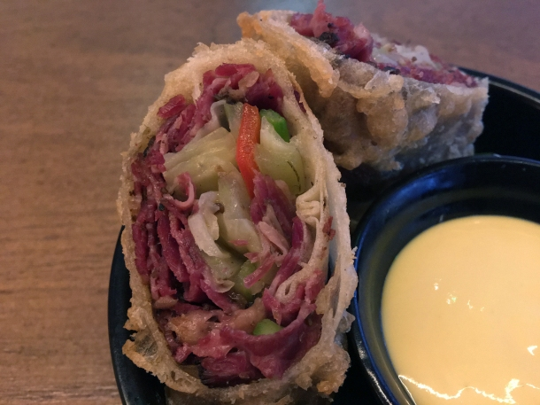 pastrami spring rolls at red farm covent garden