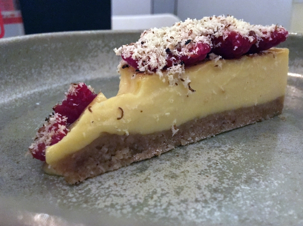 toasted oat custard tart at 1251 islington