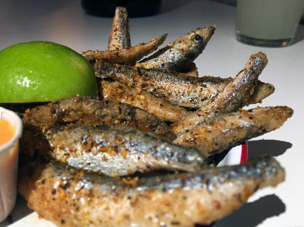 whitebait at bababoom islington
