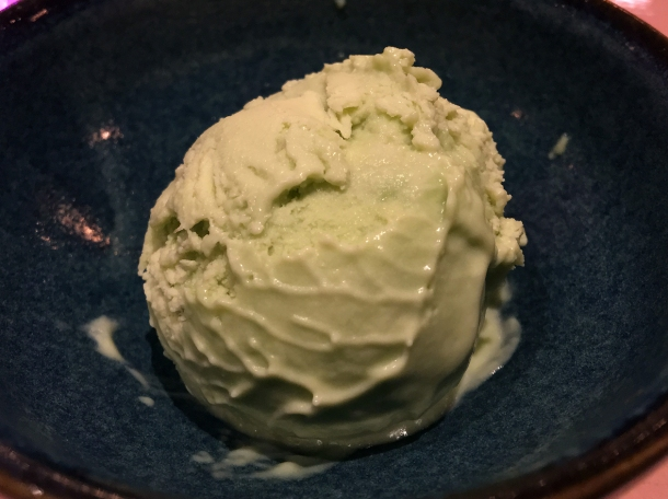 avocado ice cream at casa pastor