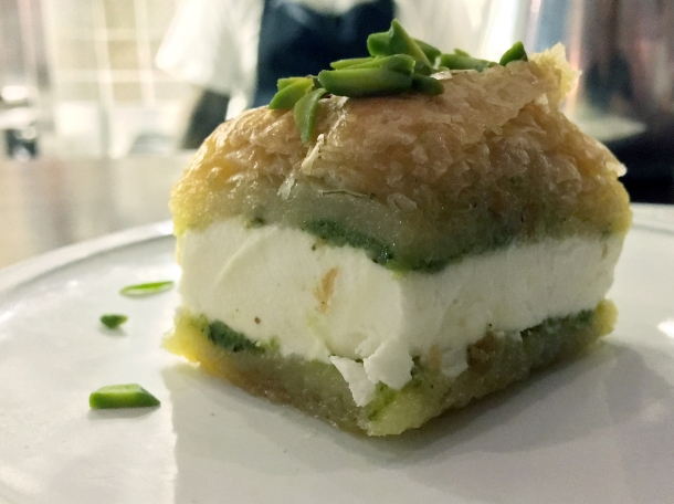 baklava ice cream sandwich at berenjak london